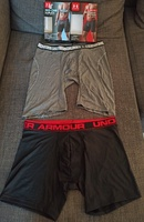 Used 2 pack UNDER ARMOUR boxer polyester new in Dubai, UAE