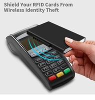 Used wallet with RFID blocking in Dubai, UAE