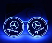 Used car led light coaster seven color in Dubai, UAE