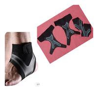 Used Adjustable Elastic Ankle Support 4 pcs in Dubai, UAE