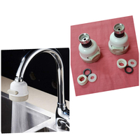 Used 360° high pressure faucet 2 pcs in Dubai, UAE