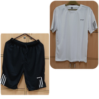 Used 2 pcs shorts and t-shirt for him ! in Dubai, UAE
