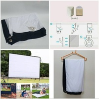 Used Portable giant movie screen New.. in Dubai, UAE