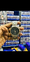 Used Tissot metal strap silver/black/gold in Dubai, UAE