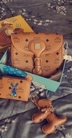 Used MCM Crossbody Bag with wallet & keychain in Dubai, UAE