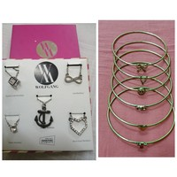 Used Bundle offer-5 Necklaces & Bracelets in Dubai, UAE