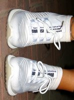 Used Women sport shoes (Brand new) in Dubai, UAE