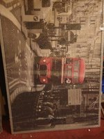 Used Big canvas poster from IKEA in Dubai, UAE