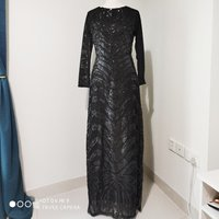 Used NEW Zalia Black Sequin Evening Dress in Dubai, UAE