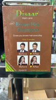 Used Disaar brown hair shampoo 10 sachets in Dubai, UAE