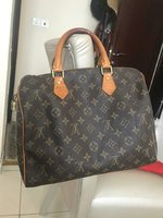Used LV SEEDY 30 LEATHER BAG...MASTER COPY.. in Dubai, UAE