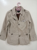 Used Slim warm jacket M light brown in Dubai, UAE