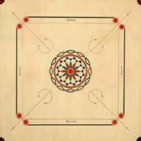 Used Carrom Board With Assessories in Dubai, UAE