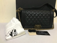 Used Chanel le boy - medium in Dubai, UAE