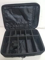 Cosmetic bag organizer black new