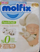 Used Molfix mini 3-6kg  64 pieces in Dubai, UAE