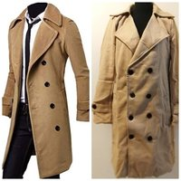 Used Brand new wool long men trenchcoat in Dubai, UAE