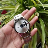 Used Japan Quartz Creative Design Steel Watch in Dubai, UAE