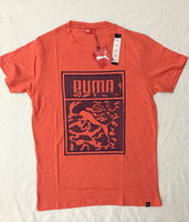 Used 2BS0133 PUMA Men's Shirt (Orange) in Dubai, UAE