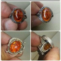 Used ORIGINAL old Silver Ring with kahraman in Dubai, UAE