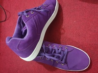 Mens Shoes Violet Used twice Size 45