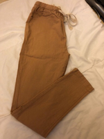 Soft Khaki trouser (camel color) Small
