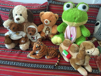 Mix soft toys in very good condition