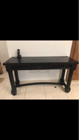 Used Wooden black table in Dubai, UAE