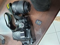 Used Nikon D5100 with 2 lens bonus Lumix in Dubai, UAE