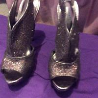 Used Glitter Heels  in Dubai, UAE