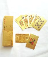 Used 24 Karat Gold-Foil Playing Cards in Dubai, UAE