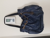 Used MK blue python jet set chain tote bag in Dubai, UAE