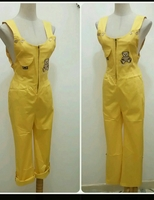 Jumpsuit Yellow Colors Available Sizes S