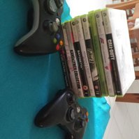 Used Xbox 360 games and 2controllers in Dubai, UAE