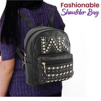 Used Beautiful backpack with shining stones in Dubai, UAE