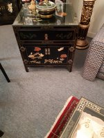 Used Unique side tables cabinets (pair of 2 in Dubai, UAE