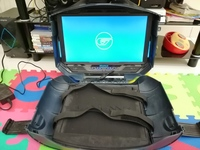Used GAEMS Vanguard portable suitcase TV in Dubai, UAE