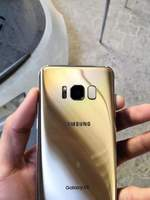 Used galaxy s8 golden colour very well condit in Dubai, UAE