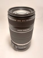 Used Canon lens Ef-s 55-250 mm in Dubai, UAE