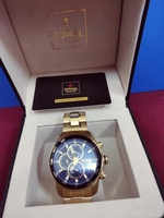 Used Jovial watch-Gold/Blue in Dubai, UAE