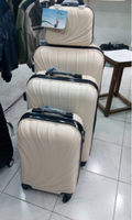 3pcs trolley bag and hand carry