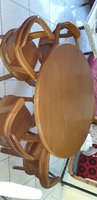 Used Dining Table with 5 (rotating) Chairs in Dubai, UAE