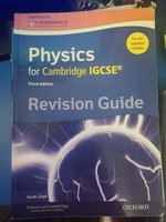 Used IGCSE Physics revision guide in Dubai, UAE
