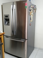 Used Samsung double door fridge in Dubai, UAE