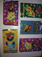 Used Pokemon Card packs in Dubai, UAE