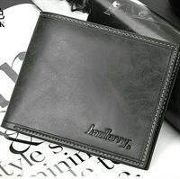 Men Wallet- Black