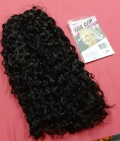 Used Deep curly 16 inches wig ! in Dubai, UAE