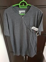 Used T-shirt ONE90ONE-GREY in Dubai, UAE