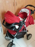 Used Graco stroller and car seat in Dubai, UAE