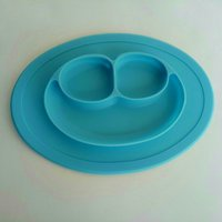 Used 2 children's anti-fall silicone placemat in Dubai, UAE